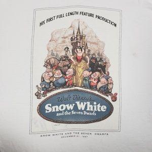 Snow White movie poster Disney Store Tee shirt